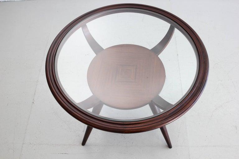 Mahogany 1950s, Italian Side Table For Sale