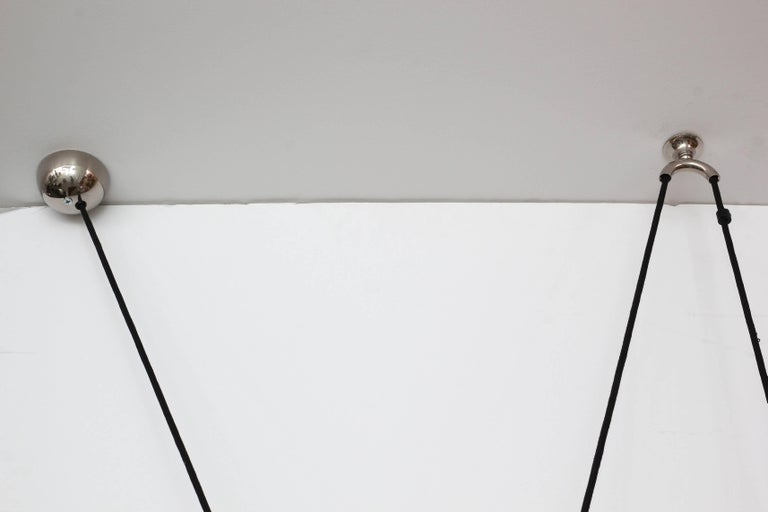 Austrian Florian Schulz Dome Counter Balance Pendant For Sale