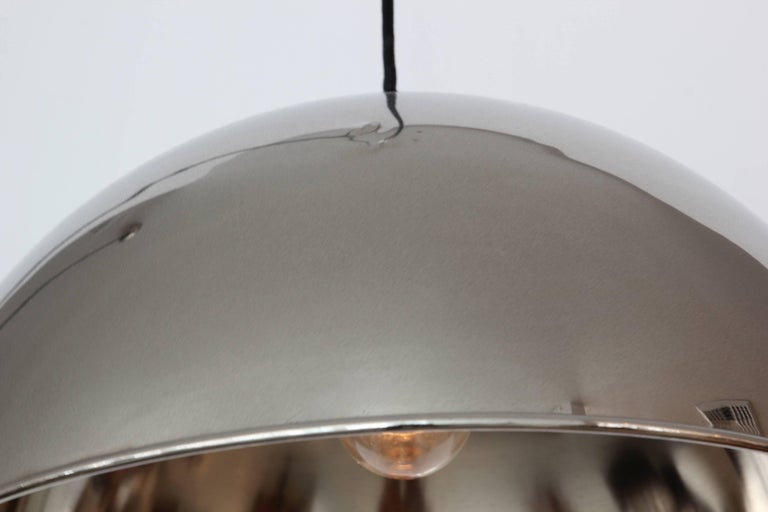 Florian Schulz Dome Counter Balance Pendant In Good Condition For Sale In Los Angeles, CA