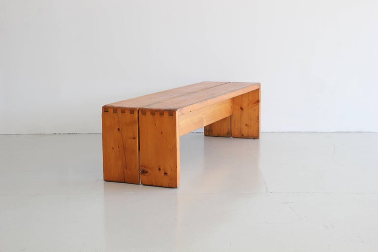 Charlotte Perriand Bench 3
