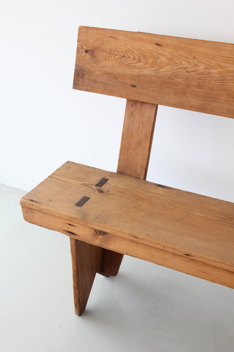 20th Century 11 Foot Farmhouse Bench For Sale