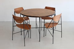 Arthur Umanoff Dining Table and Chairs