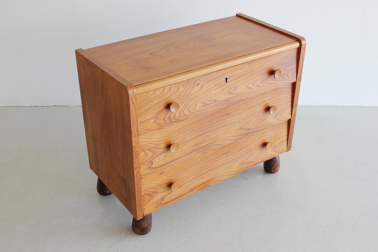 Rare oak dresser by Otto Faerge, circa 1940s. 