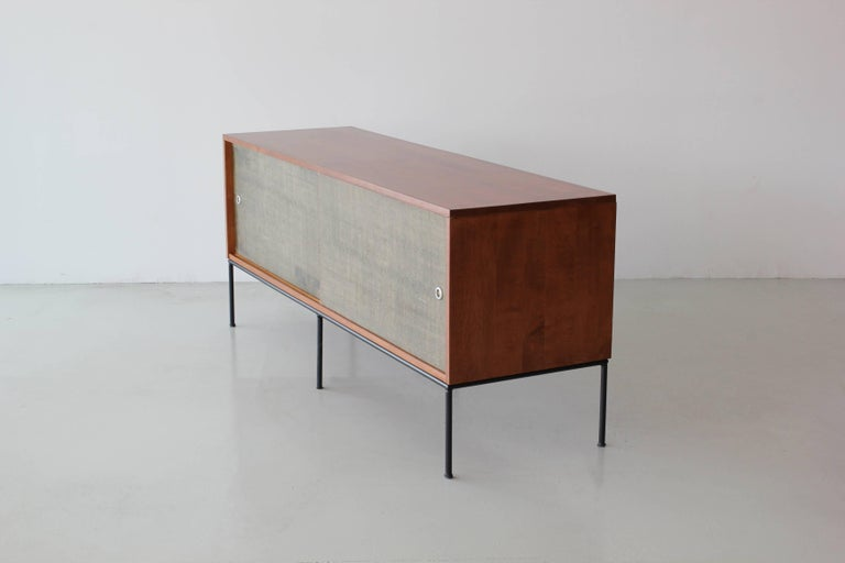 Cane Paul McCobb Credenza For Sale