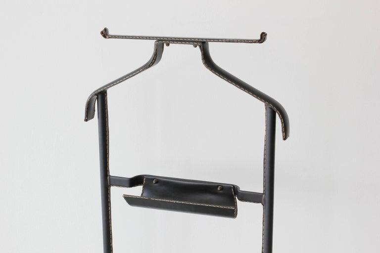 French Jacques Adnet Valet For Sale
