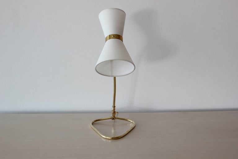 Table Lamp, style of Pierre Guariche In Good Condition For Sale In Los Angeles, CA