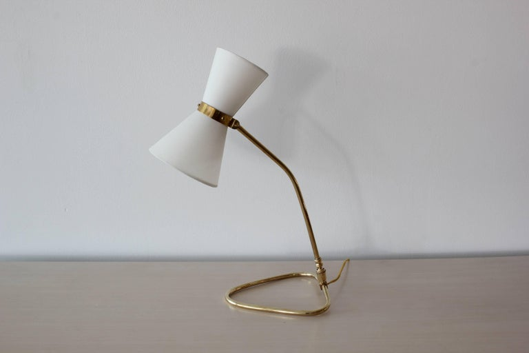 French Table Lamp, style of Pierre Guariche For Sale