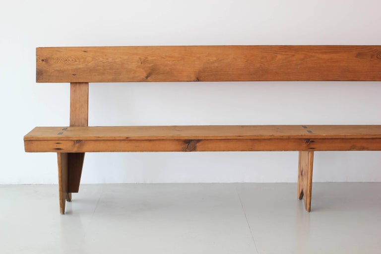 11 Foot Farmhouse Bench For Sale 2