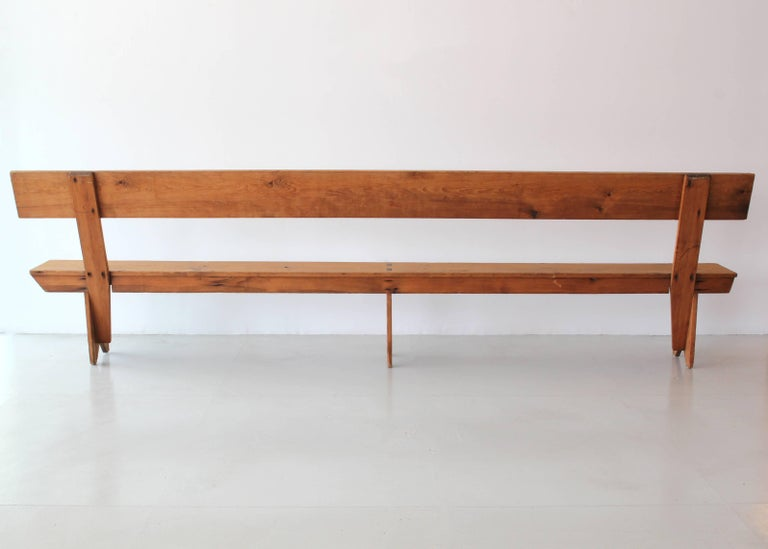 11 Foot Farmhouse Bench For Sale 3