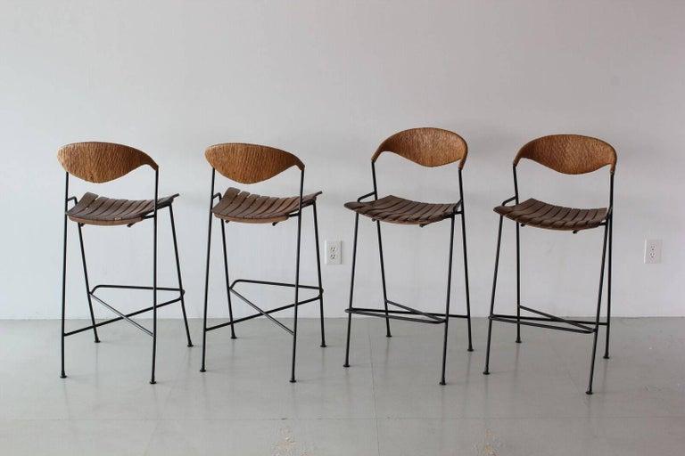 Arthur Umanoff Barstools For Sale 1