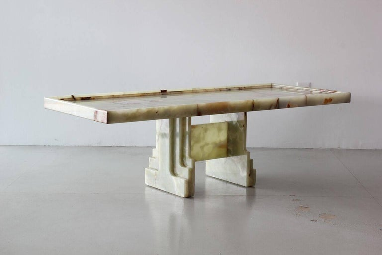 Mid-20th Century Italian Marble Table For Sale