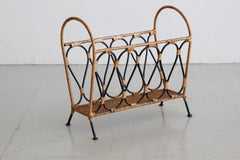 Jacques Adnet Attributed Magazine Rack