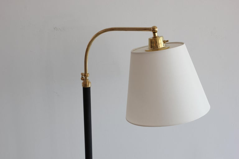 20th Century French Floor Lamp in the Style of Jacques Adnet For Sale