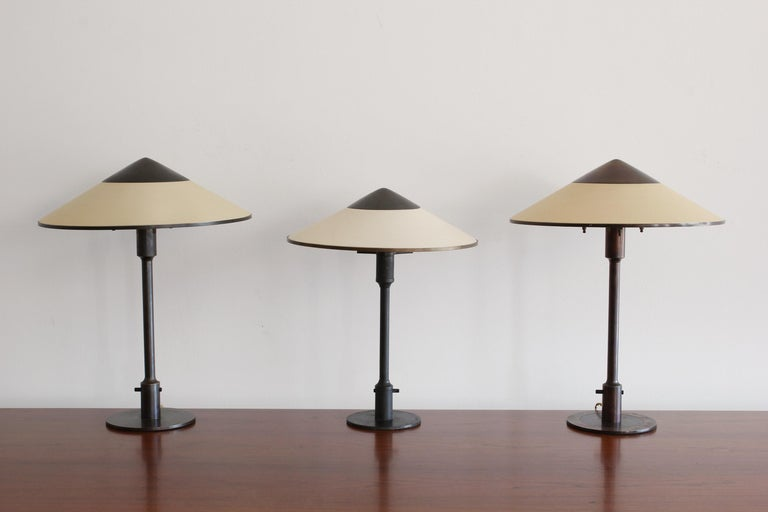 Danish Table Lamp by Niels Rasmussen Thykier For Sale 1