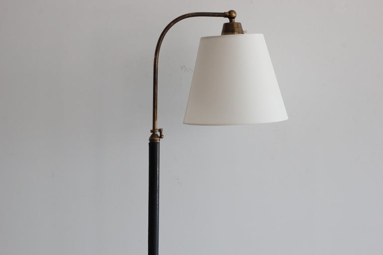 20th Century French Telescoping Lamp in Style of Jacques Adnet For Sale