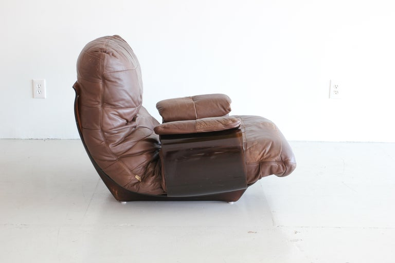 Pair of Marsala Lounge Chairs by Michel Ducaroy for Ligne Roset For Sale 3