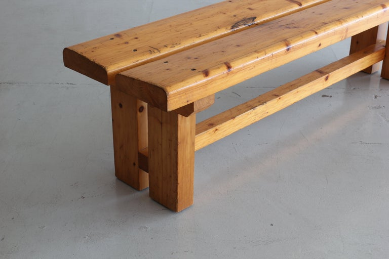 French Charlotte Perriand Bench For Sale