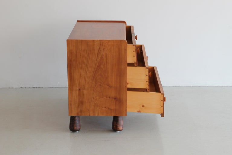Oak Chest of Drawers by Otto Faerge For Sale