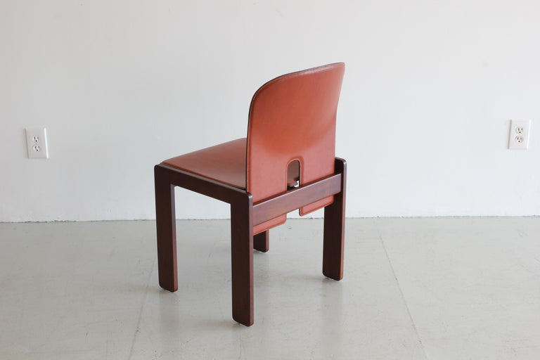Set of Ten Afra & Tobia Scarpa Dining Chairs In Good Condition For Sale In Los Angeles, CA