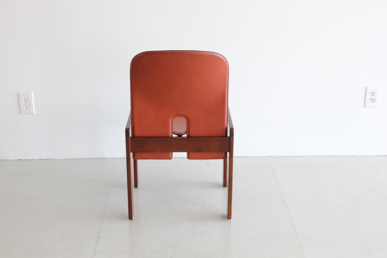 Mid-20th Century Set of Ten Afra & Tobia Scarpa Dining Chairs For Sale