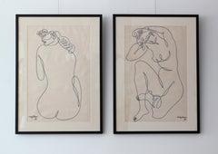 Jean Negulesco Single Line Drawing