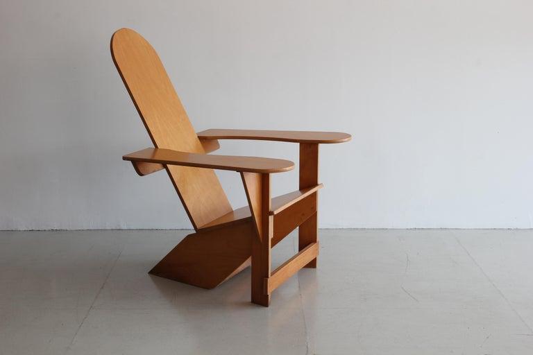 Italian Original Adirondack Chair by Pierre Dariel for Poltrona, ca 1926 For Sale