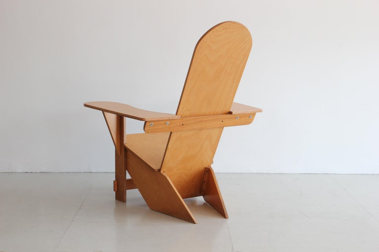 Wood Original Adirondack Chair by Pierre Dariel for Poltrona, ca 1926 For Sale