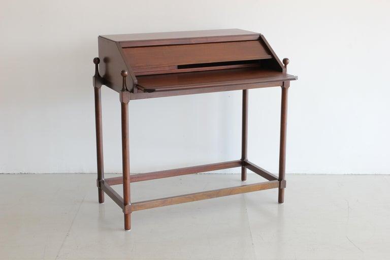 Italian Secretary Desk by Fratelli Proserpio For Sale