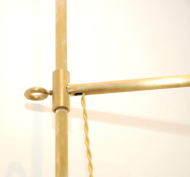 Contemporary French Pole Sconce For Sale