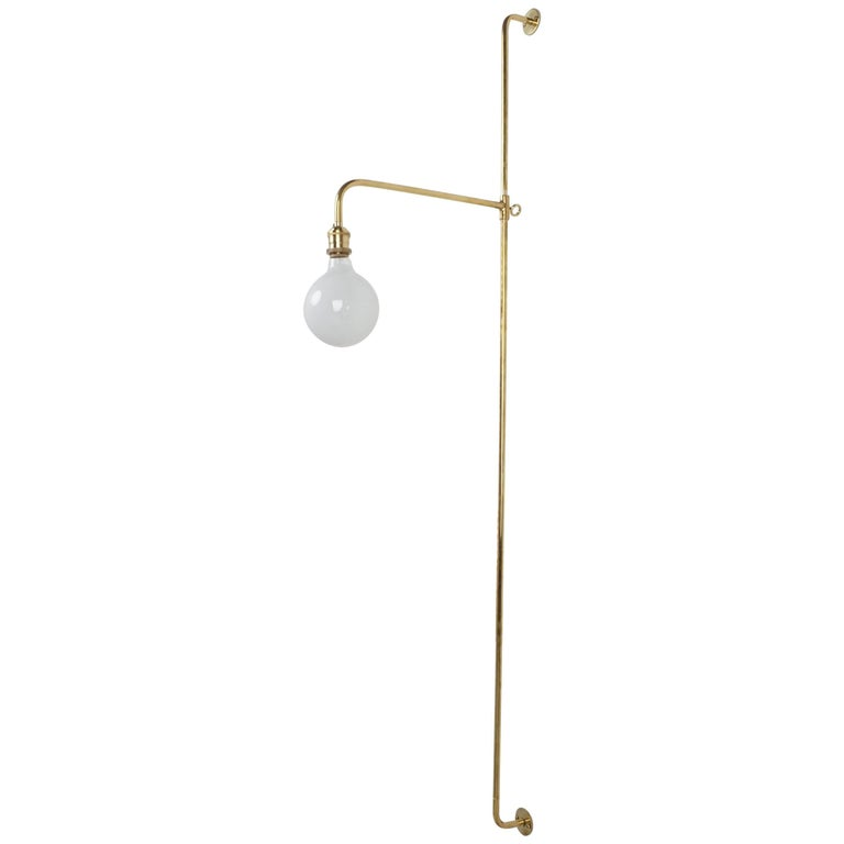 French Wired Pole Sconce For Sale