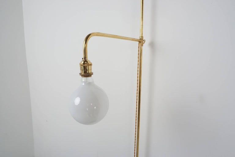French Wired Pole Sconce In Excellent Condition For Sale In Los Angeles, CA