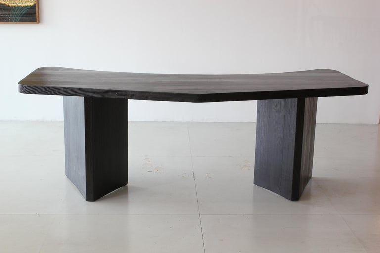 French Boomerang Desk in Style of Chapo For Sale 1