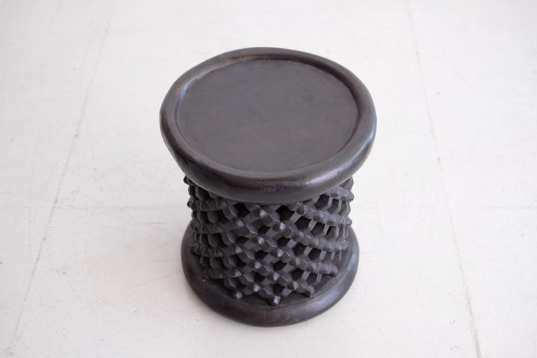 Late 20th Century African Bamileke Spider Stools For Sale