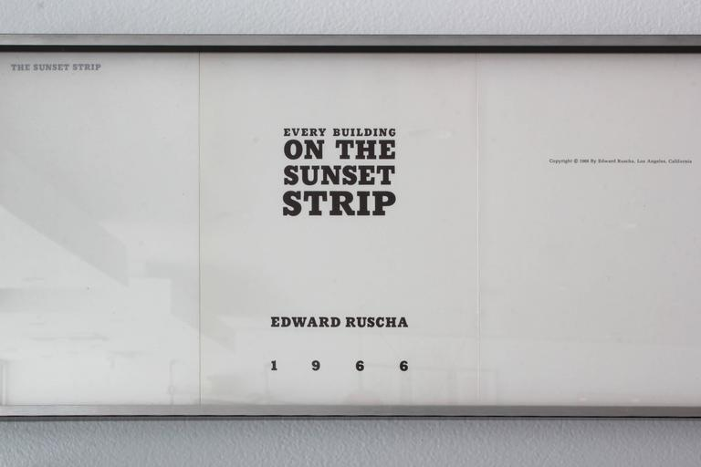 Ed Ruscha Every Building on the Sunset Strip 7