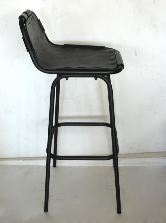 Les Arcs Barstool In Excellent Condition For Sale In Los Angeles, CA