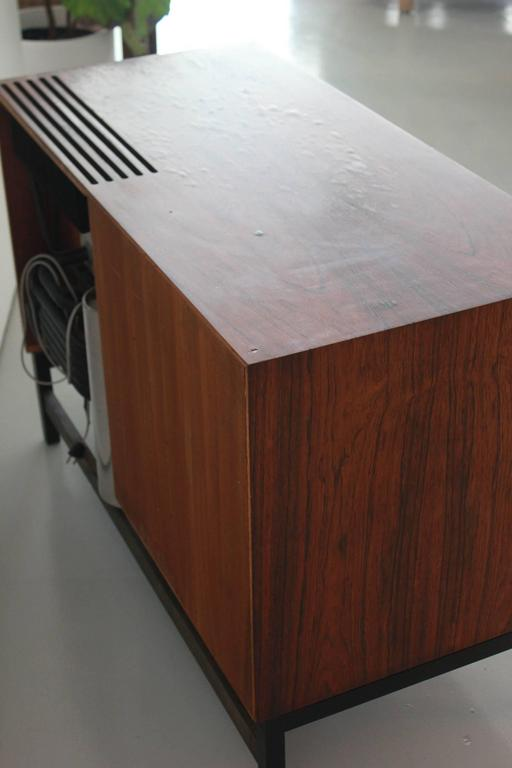 Danish Rosewood Bar Cabinet with Refrigerator by Silkeborg For Sale 4