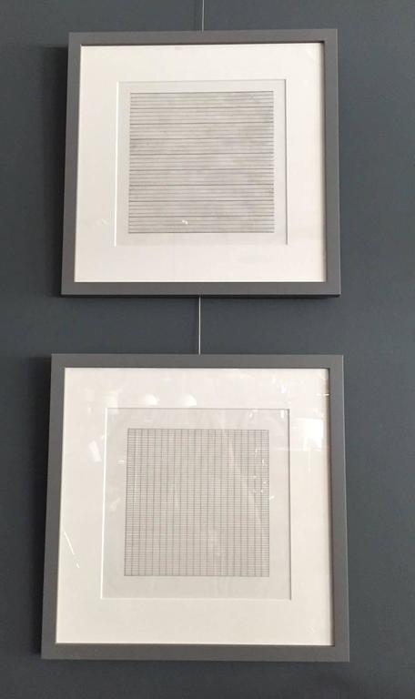 Set of Ten Framed Agnes Martin Lithographs 6