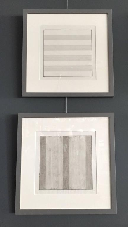 Set of Ten Framed Agnes Martin Lithographs 7
