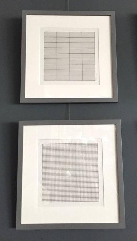 Set of Ten Framed Agnes Martin Lithographs 5