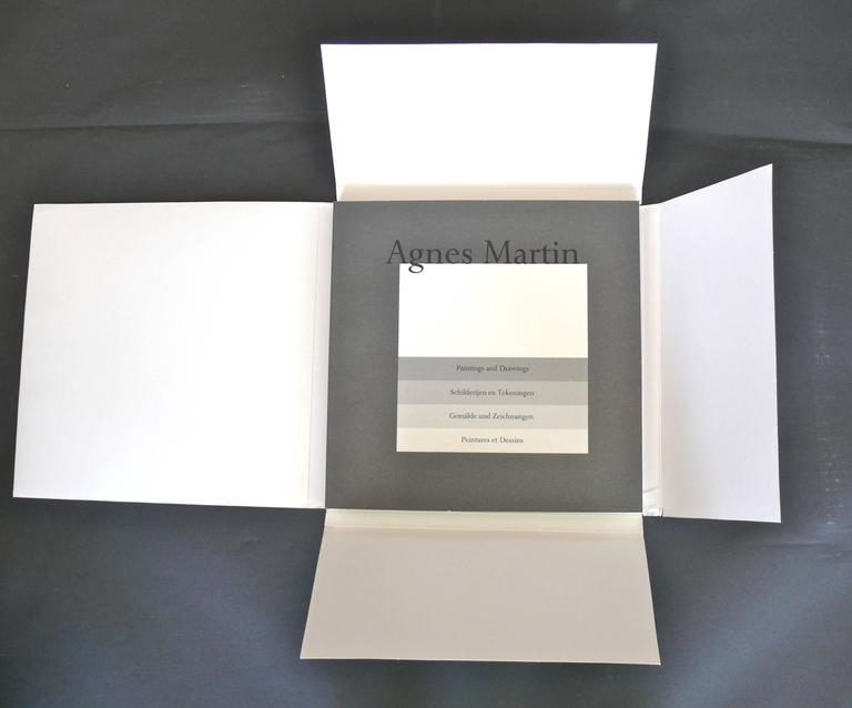 Set of Ten Framed Agnes Martin Lithographs 8