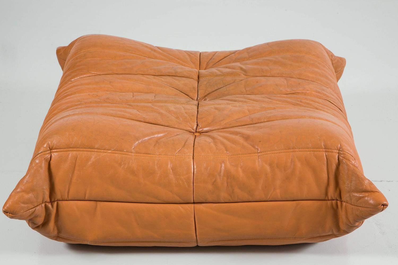 togo loveseat and ottoman by ligne roset at 1stdibs. Black Bedroom Furniture Sets. Home Design Ideas