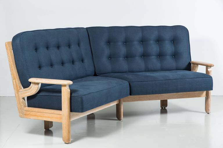French Guillerme et Chambron Settee For Sale