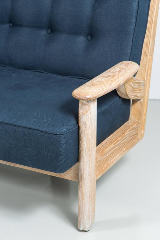 Guillerme et Chambron Settee For Sale 1