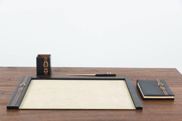 Italian Gucci Desk Set For Sale