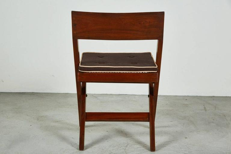 Pierre Jeanneret Library Chair In Excellent Condition For Sale In Los Angeles, CA