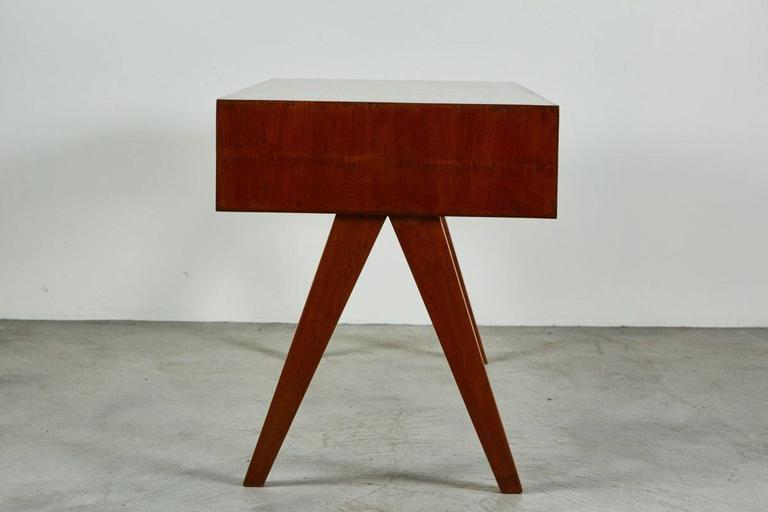 20th Century Pierre Jeanneret Desk For Sale