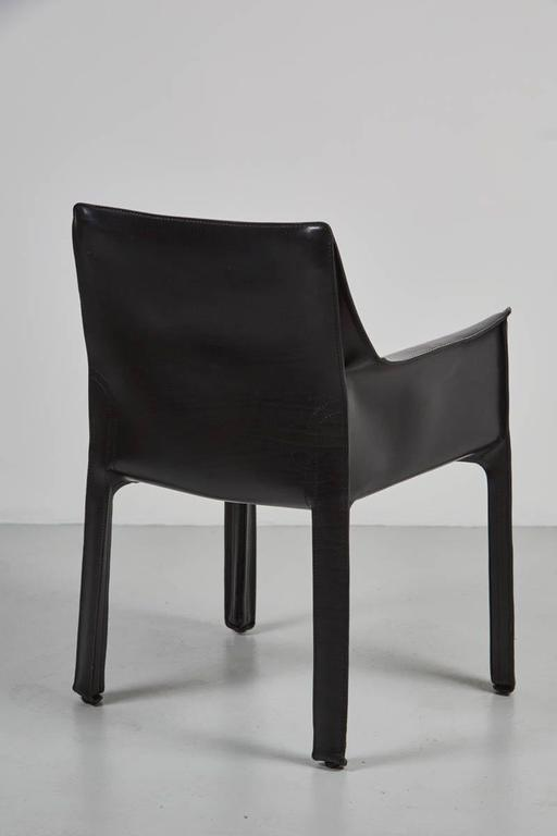 Late 20th Century Cab Chairs by Mario Bellini For Sale