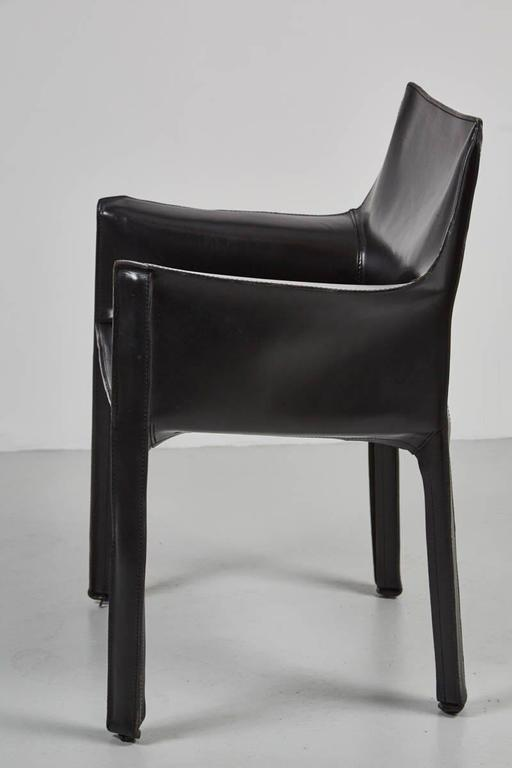 Cab Chairs by Mario Bellini For Sale 1