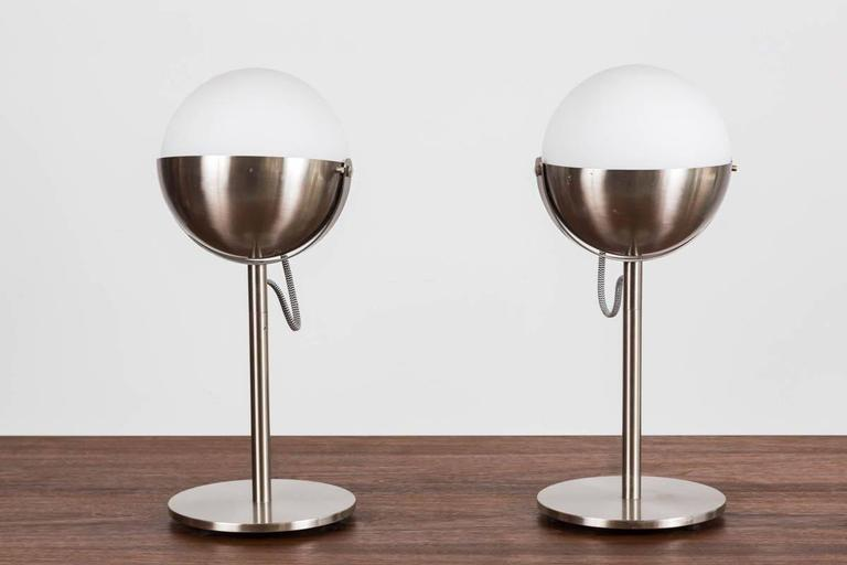 Andree Putman Table Lamps by Fontana Arte 2