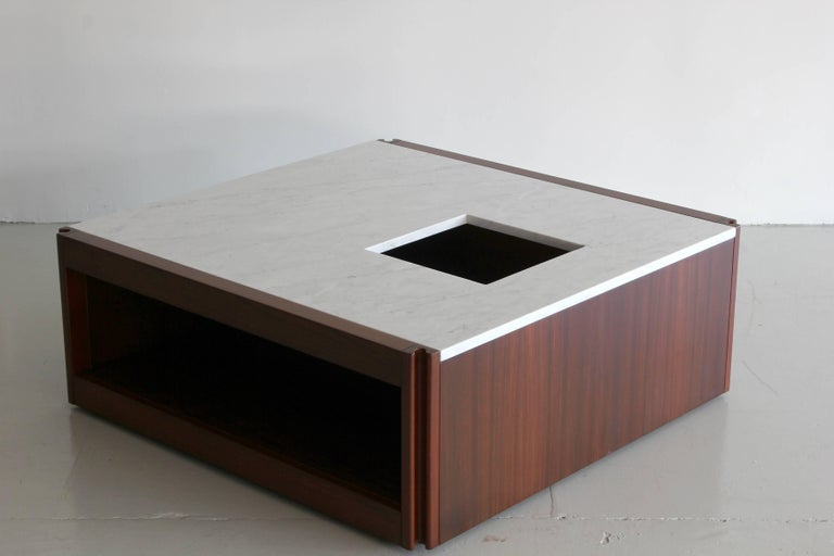 Marble Coffee Table by Angelo Mangiarotti In Excellent Condition For Sale In Los Angeles, CA